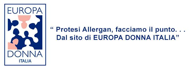 NEWS - EUROPA DONNA ITALIA