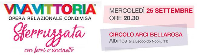 VivaVittoria Sferruzzata ad Albinea 25 Sett, 2019