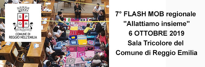 flash mob Allattamento Comune RE H245